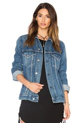 Citizens Of Humanity Boyfriend Jacket Blue