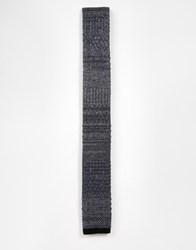 Minimum Knitted Tie Grey