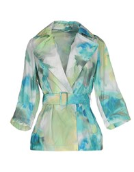 Add Suits And Jackets Blazers Women Turquoise