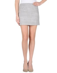Twenty8twelve Mini Skirts Light Grey