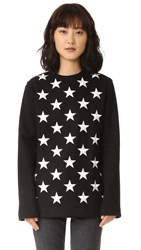 Gareth Pugh Star Long Pullover Black Multi