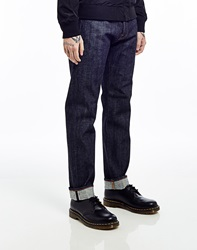 Edwin Jeans In Red Listed Selvedge Slim Tapered Ed80