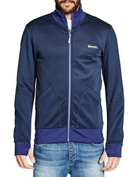 Bench Principle Slim Fit Active Jacket Blue