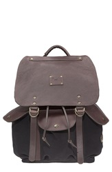 Will Leather Goods 'Lennon' Backpack Black Brown