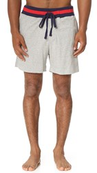 Sleepy Jones Spike Lounge Shorts Grey