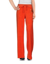 Juicy Couture Trousers Casual Trousers Women Orange