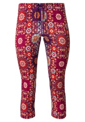 Roxy Relay Tights Psychedelic Dream Combo Tomato Pink