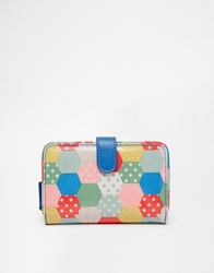 Cath Kidston Folded Zip Wallet Natural