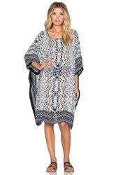 Parker Beach Playa Embellished Cover Up Marina Quintana Beige