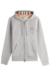 Burberry Brit Cotton Hoody Grey