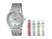 Guess U0785l1 Silver White Light Green Light Blue Pink Watches
