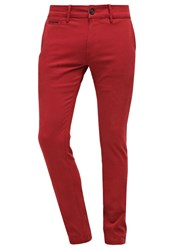 Diesel Chishaped Trousers Chinos 41T Red