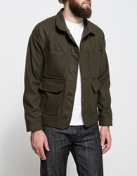 Apolis Wool Chore Jacket Olive