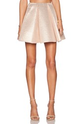 Dress Gallery Shiny Skirt Metallic Gold