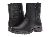 Naturalizer Tynner Black Leather Women's Boots
