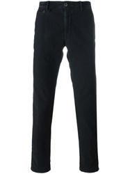 Incotex Skinny Trousers Blue