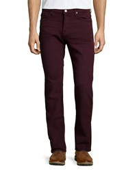 7 For All Mankind Luxe Performance Slimmy Colored Jeans Crimson