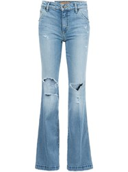 Joe's Jeans 'The Wasteland Flare' Blue