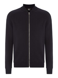 Paul Smith Men's Ps By Zip Up Knitted Merino Cardigan Navy