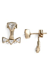 Melinda Maria 'Madison' Ear Jackets Gold
