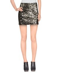 Wyldr Mini Skirts Black