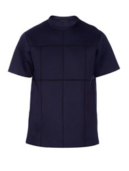 Christopher Kane Crew Neck Jersey Neoprene T Shirt