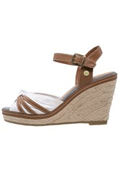Tom Tailor Wedge Sandals White