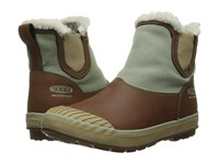 Keen Elsa Chelsea Waterproof Cocoa Desert Sage Black Women's Waterproof Boots Brown