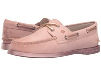 Sperry A O 2 Eye Bling Rose Gold Women's Lace Up Moc Toe Shoes