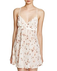 Flora Nikrooz Camellia Chemise Ivory Floral