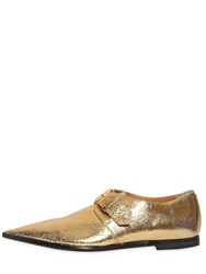 Vivienne Westwood Laminated Leather Monk Strap Shoes