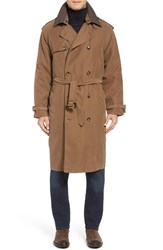 London Fog Men's Trench Coat British Khaki