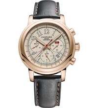 Chopard 161274 5006 Mille Miglia 18Ct Rose Gold And Leather Limited Edition Race Watch