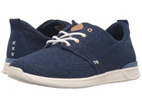 Reef Rover Low Tx Navy White Women's Lace Up Casual Shoes Blue