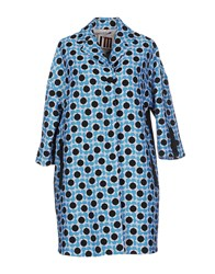 I'm Isola Marras Coats And Jackets Coats Women Azure