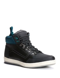 Calvin Klein Marshall Sporty Boots Black Emerald