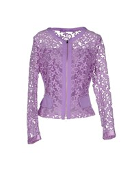 22 Maggio Suits And Jackets Blazers Women Purple