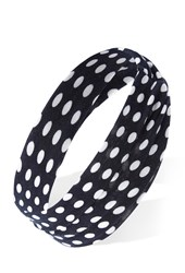 Forever 21 Mod Dots Knotted Headwrap