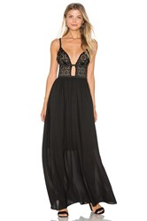 Wyldr Last Night Maxi Dress Black