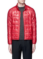 Burton Packable Down Puffer Jacket Red