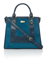 Ollie And Nic Dougal Blue Shoulder Bag Blue