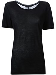 Avelon 'Lithe' T Shirt Black