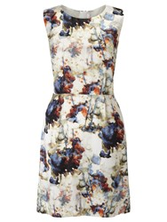Hugo Boss Boss Orange Ameschy1 Printed Dress Multi
