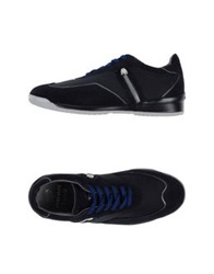 Piero Guidi Low Tops And Trainers Dark Blue
