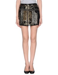 Angelina Folies Skirts Mini Skirts Women Black