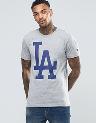 New Era La Dodgers T Shirt Grey