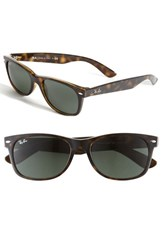 Women's Ray Ban 'New Large Wayfarer' 55Mm Sunglasses Dark Tortoise