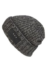 John Varvatos Men's Star Usa Cappuccino Cotton And Wool Beanie