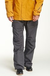 Quiksilver North Pass Snow Pant Gray