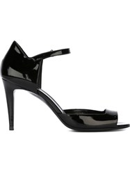 Pierre Hardy Ankle Strap Sandals Black